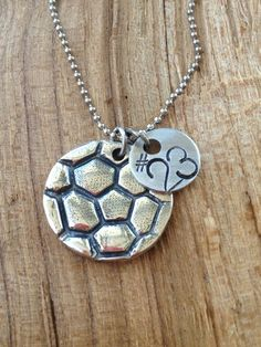 Soccer Ball Necklace with Number-soccer ball necklace-Meredith, I want this for Mother's Day!!  #7