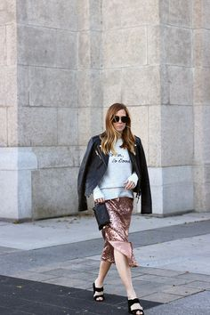 Outfits File: How to Style a Sequin Dress