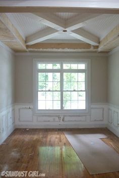 20 Simple Tray Ceiling Design to Make Your Room More Stylish Ceiling Trim, Ceiling Detail, Ceiling Beams, Ceiling Design, Tray Ceilings, Wood Ceilings, Accent Ceiling, Coffered Ceilings, Shiplap Ceiling