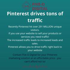 Marketing Quotes, Marketing Ideas, Media Marketing, Pinterest Website, Digital Marketing Strategy, Make It Work, Lead Generation, Digital Media, Pinterest Marketing