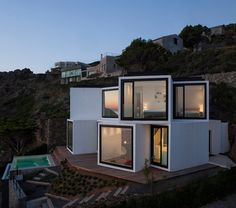 Sunflower House, Costa Brava, Spain by Cadaval & Sola-Morales