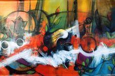 """Recibimos con el mayor de los orgullos!!!, obra de arte del artista plastico Jesús Ovalles, título:""""Instrumentos"""", medidas 200x100cms, año 2015,""""#arte #ArtePuro #jesus #talentovenezoñano #talentoanzoatiguense #Galeria #BahiaRedondaGallery #local26 #Anzoategui #Marinainternacionalbahiaredonda #Miami #EEUU #talentodeexportacion #Panama #republicadominicana #Colombia , contacto: brgalery@hotmail.com whatsapp 04269853287"""