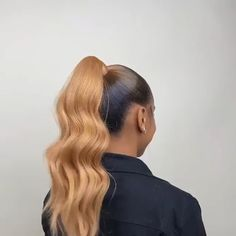 """Thriving Hair 8""""-28"""" Blonde Brown Multiple Color Hair Velcro Strap Wrap Around Clip In Straight Ponytail For Women 1 Piece 60g-160g (P4) Clip In Ponytail, Straight Ponytail, Straight Hairstyles, Highlights Curly Hair, Ponytail Extension, Virgin Hair Extensions, Fuller Hair, One Hair, Hair Inspo"""