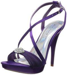 Pleaser Women's Revel-07 PPSA Platform Pump,Purple Satin,8 M US - [ Please Visit http://handbags.apparelique.com/shoes/pleaser-womens-revel-07-ppsa-platform-pumppurple-satin8-m-us/ For Price And Shipping Information] #Shoes [ Price: $25.88 - $71.91]