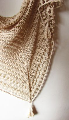 Picnic Shawl PDF Crochet Pattern by ShaggyNest on Etsy