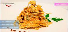 tagliolini di carote raw