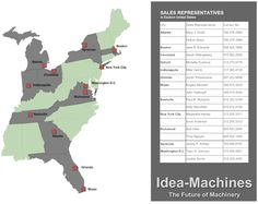 How To Build A US National County Sales Territory Map In - Us sales territory map