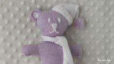 derecho. Smurfs, Goats, Knitting Patterns, Dinosaur Stuffed Animal, Projects To Try, Teddy Bear, Animals, Lana, Macrame