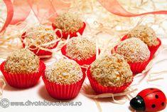 bomboane-din-caise-deshidratate Nutella, Caramel, Cheesecake, Muffin, Vegan, Breakfast, Workshop, Food, Bebe
