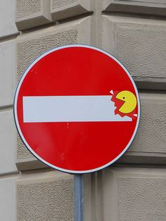 Street Sign Art by Clet