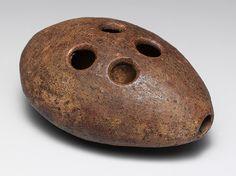 Xun (ovoid ocarina), Han dynasty (206 B.C.–220 A.D.)  China  Pottery