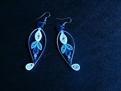 All About Quilling: Quilled earrings and necklace