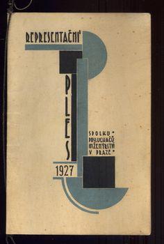 Ball invitation, Czechoslovakia