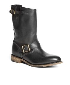 8521cca67e847 Vintage Calfskin Pull-On Boots. Fully leather lined. Leather sole 1