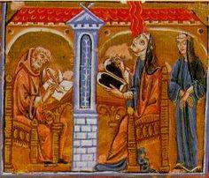 St. Hildegarde of Bingen: 11th-century Benedictine abbess, writer, composer, philosopher, Christian mystic, visionary, and polymath.