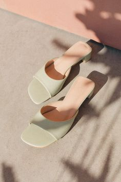 Bardot Sandal Sage – Lily Subscribe Newsletter, Mule Sandals, Bardot, Sage, March, Lily, Salvia, Orchids, Lilies