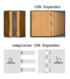 Crossed Structure Binding Expander by Carmencho Arregui