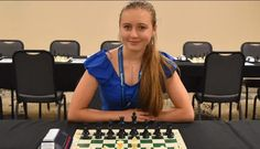 Chess, Woman, Gingham