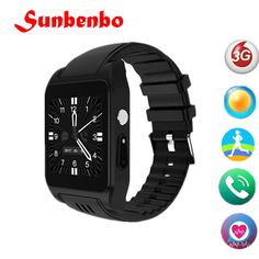 New Wifi Bluetooth Smart Watch Android Relogio Celular Camera Cellular Smartwatch Play Store for HUAWEI Redmi 4 VS Gps Fitness Tracker, Wearable Device, Heart Rate Monitor, Portable, Apple Watch, Smart Watch, Dame, Wifi, Bluetooth