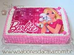 Baby Boy Birthday Cake, 1st Bday Cake, Barbie Birthday Cake, Happy Birthday 18th, Barbie Theme Party, Bolo Barbie, Barbie Summer, Spa Birthday Parties, Party Entertainment