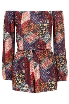 Photo 1 of Scarf Print Playsuit