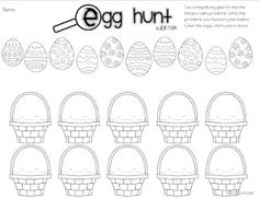 Addition and Subtraction Easter Egg Hunt