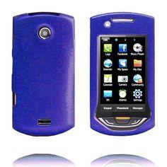 Hard Shell Snap-On (Blå) Samsung S5620 Monte Deksel