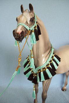PETER STONE & BREYER Presentation Set for Model Horses                       cool horse tack