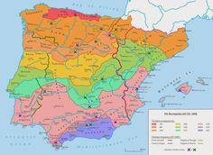 Mapa Reconquista