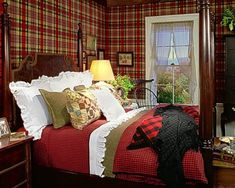 "Ralph Lauren Home Archives, ""Hudson Valley"" Bedroom, Fall 2008"