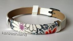 bracelet japanese fabric kanzashiland