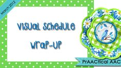 Ideas for Teaching the Use of Visual Schedules from PrAACtical AAC Autism Classroom, Special Education Classroom, Autism Education, Speech Language Pathology, Speech And Language, Autism Resources, Autism Activities, School Resources, Learning Resources