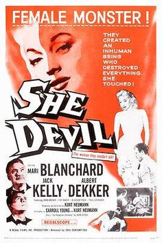 She Devil - 1957 - Movie Poster