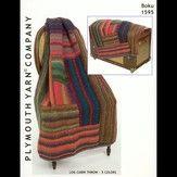 Plymouth Yarn 1595 Log Cabin Throw - 5 Colors