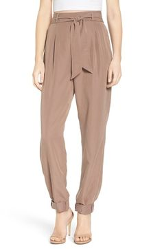 Leith Tie Waist Pants available at #Nordstrom