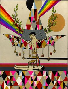 Richard Colman - dark humor yet colorful melancholy. cringing yet embracing.