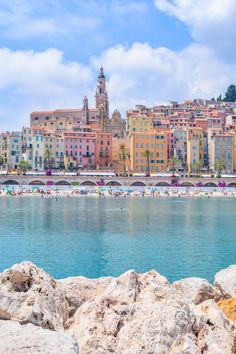 The Perfect Day Trip to Menton, France from Nice. I hopped on a French Riviera train to a town called Menton. Travel Photography Tumblr, Photography Beach, France Photography, World Photography, Destinations D'europe, Travel Photographie, Couple Travel, Family Travel, Villefranche Sur Mer
