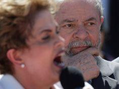 Lula acompanha pronucimento de Dilma no Palácio do Planalto