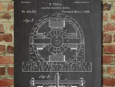 Tesla Electric Car Motor Patent - www.eklectica.in #eklectica