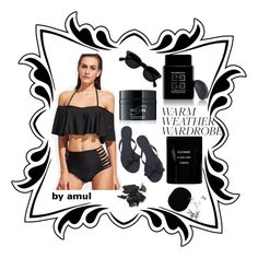 """🖤🖤🖤"" by amul ❤ liked on Polyvore featuring WithChic, 111Skin, Cleanse by Lauren Napier and Givenchy"
