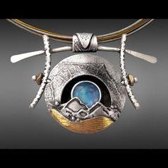 Jewelry   Jewellery   ジュエリー   Bijoux   Gioielli   Joyas   Art   Arte   Création Artistique   Artisan   Precious Metals   Jewels   Settings   Textures   Melanie Grubb-Miller