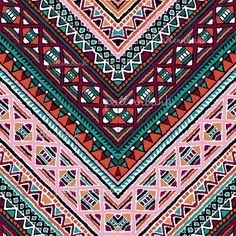 Aztec Pattern Wallpaper, African Tribal Patterns, Ikat, Amelia, Repeat, Screen Printing, Pattern Design, Chevron, How To Draw Hands