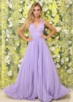 8a81c0963 70 melhores imagens de Vestido Lilás em 2019 | Lilac dress, Ballroom ...