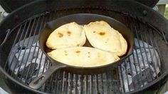 Kid friendly camping meals.  Calzones on the campfire.....who would have thought?