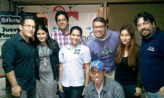 Nuestro primer: Hablemos de los Social Media en Maracaibo, en nombre del grupo @Community Managers Venezuela (CMVzla). Allí con gente de Mood, Maginate, @Emprendo Venezuela, Refresh Maracaibo y 141 Strategia.