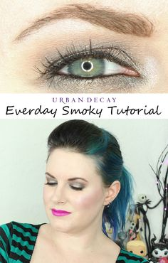 Urban Decay Naked Smoky Palette Everyday Smoky Tutorial. Perfect for hooded eyes!