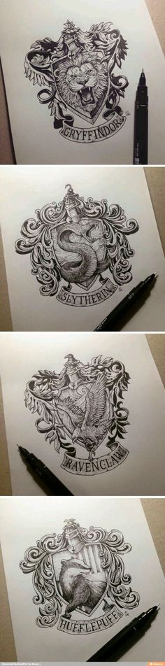 The Beautiful art of a Potterhead