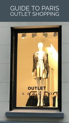 My guide to legit outlet stores in the heart of Paris! I walked th streets of the Marais and shopped outlet stores for women's fashion.