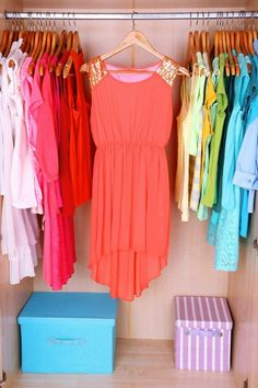 Dream Closet from Kelly at Primally Inspired (Dressing Your Truth type 1) -- love this closet!