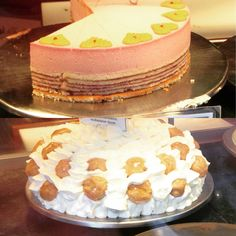 """Danish specialty cakes, including the famous """"Sports Cake"""""""